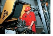 Процесс гарантийного обслуживания машины
